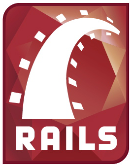 Ruby on Rails programming logo