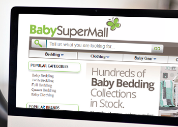 Baby Super Mall website design project