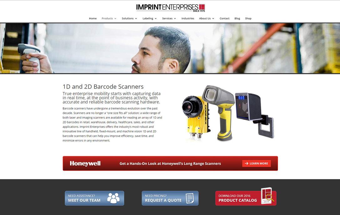 e-commerce site Imprint Enterprises