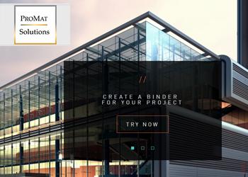 Pro Material web design
