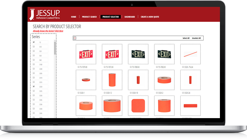 web integration for Jessup Manufacturing