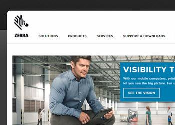 Zebra web design