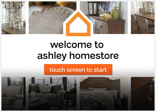 Ashley Home website design