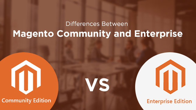 Differences of Magento
